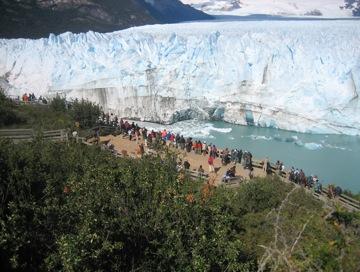 Argentina - El Calafate; un belvedere sul Ghiacciaio Perito Moreno