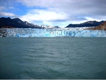 Argentina - El Chalten - Ghiacciaio Viedma e il lago omonimo