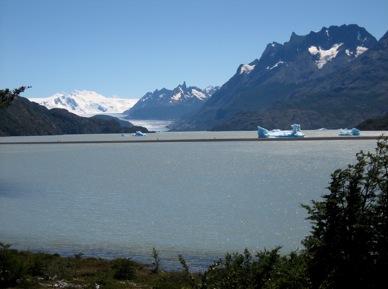 Cile - Il ghiacciaio Grey