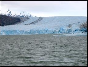 Cile - Il ghiacciaio Montt che si getta nel Pacifico