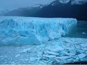 Ghiacciao Perito Moreno - I piccoli iceberg derivanti dal crollo del ghiaccio